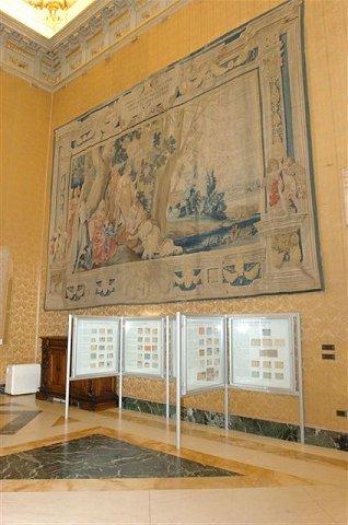 Inaugurazione della mostra filatelica il regno d 39 italia for Rassegna stampa camera deputati